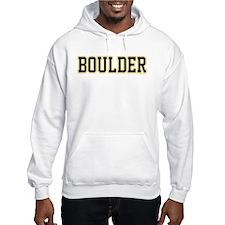 Boulder Jersey White Hoodie