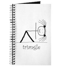 Triangle Yoga pose: Journal