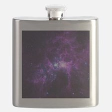 Purple Galaxy Flask
