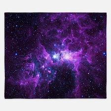Purple Galaxy King Duvet