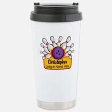 Bowling Custom Stainless Steel Travel Mug