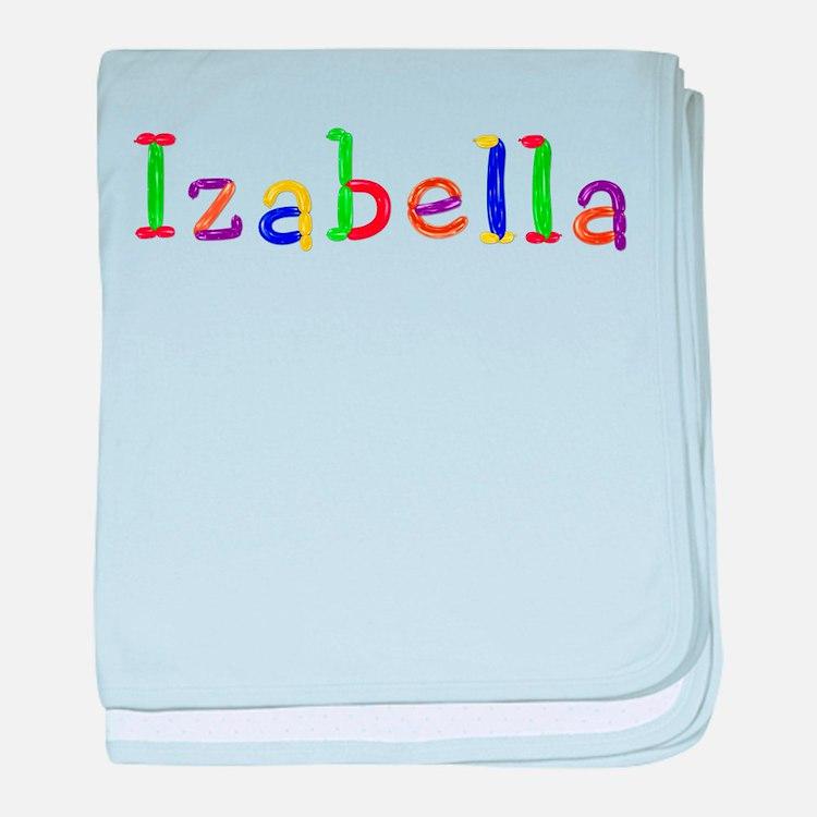 Izabella Balloons baby blanket