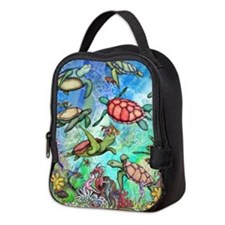 Sea Turtles Neoprene Lunch Bag