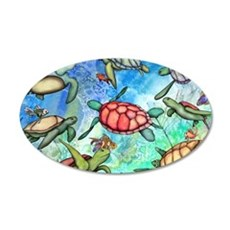 Sea Turtles Wall Decal