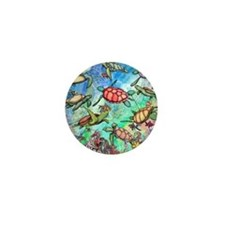 Sea Turtles Mini Button