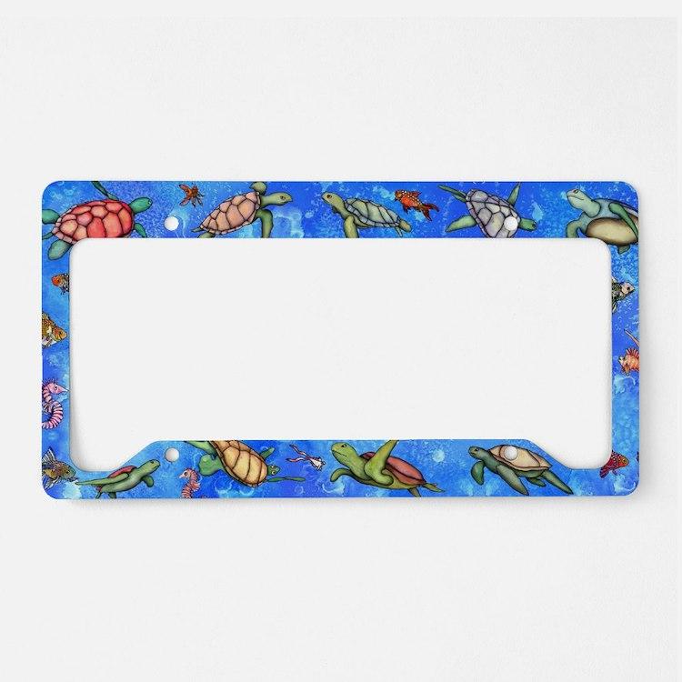 Sea Turtles License Plate Holder