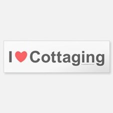 Cottaging Sticker (Bumper)