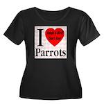 I Love Parrots Adopt A Bird D Women's Plus Size Sc