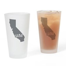 Unique Ca Drinking Glass