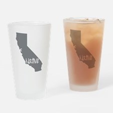 Cute Ca Drinking Glass