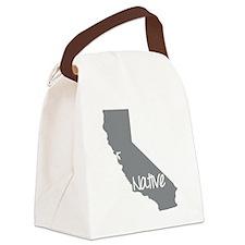 Cute Ca Canvas Lunch Bag