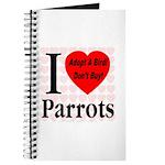 I Love Parrots Adopt A Bird D Journal