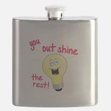 You Out Shine The Rest! Flask