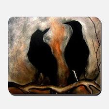 Black Birds Mousepad