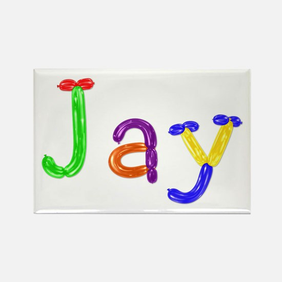 Jay Balloons Rectangle Magnet