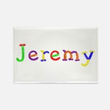 Jeremy Balloons Rectangle Magnet