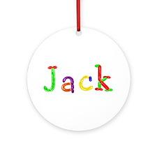 Jack Balloons Round Ornament