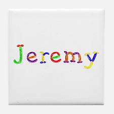 Jeremy Balloons Tile Coaster