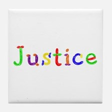 Justice Balloons Tile Coaster