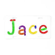 Jace Balloons Aluminum License Plate