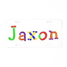 Jaxon Balloons Aluminum License Plate