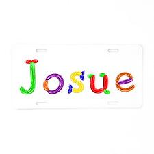 Josue Balloons Aluminum License Plate