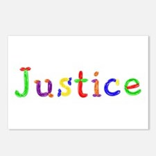 Justice Balloons Postcards 8 Pack