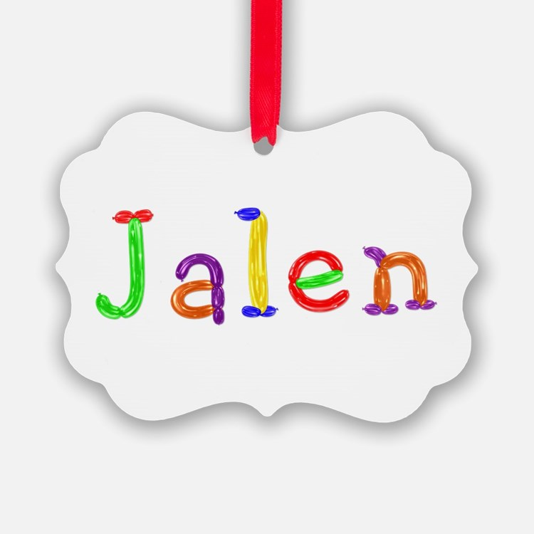 Jalen Balloons Ornament