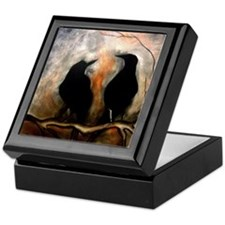 Black Birds Keepsake Box
