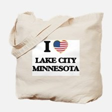 I love Lake City Minnesota Tote Bag