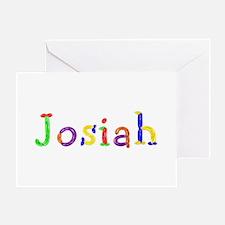 Josiah Balloons Greeting Card