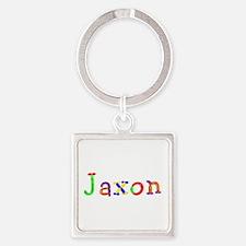 Jaxon Balloons Square Keychain