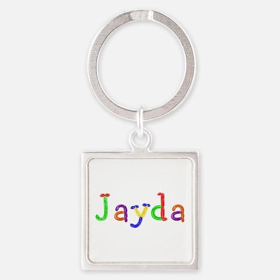 Jayda Balloons Square Keychain