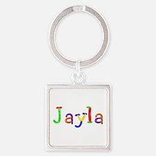 Jayla Balloons Square Keychain
