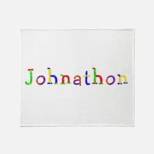 Johnathon Balloons Throw Blanket