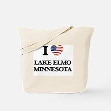 I love Lake Elmo Minnesota Tote Bag