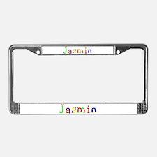 Jasmin Balloons License Plate Frame