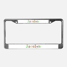 Jocelyn Balloons License Plate Frame