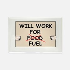 FUEL PRICE HUMOR Rectangle Magnet