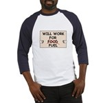 FUEL PRICE HUMOR Baseball Jersey