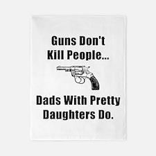 Dad Gun Twin Duvet
