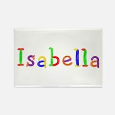 Isabella Balloons Rectangle Magnet