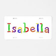 Isabella Balloons Aluminum License Plate
