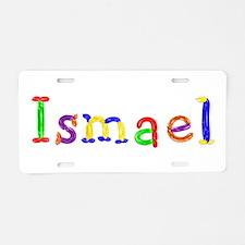 Ismael Balloons Aluminum License Plate