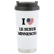 I love Le Sueur Minneso Travel Coffee Mug