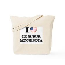 I love Le Sueur Minnesota Tote Bag