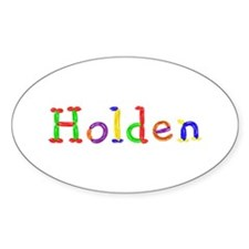 Holden Balloons Oval Decal