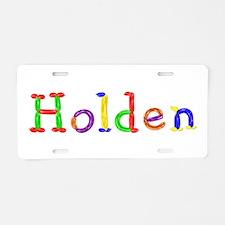 Holden Balloons Aluminum License Plate