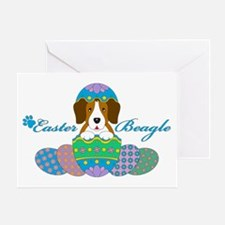 Easter Beagle Greeting Cards