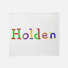 Holden Balloons Throw Blanket
